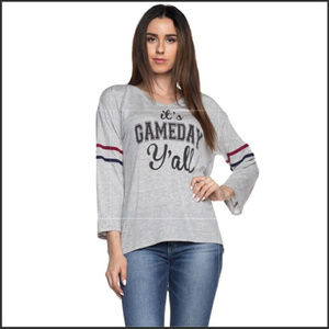 Tops - 🛑🆑⚾Gameday cropped arm top